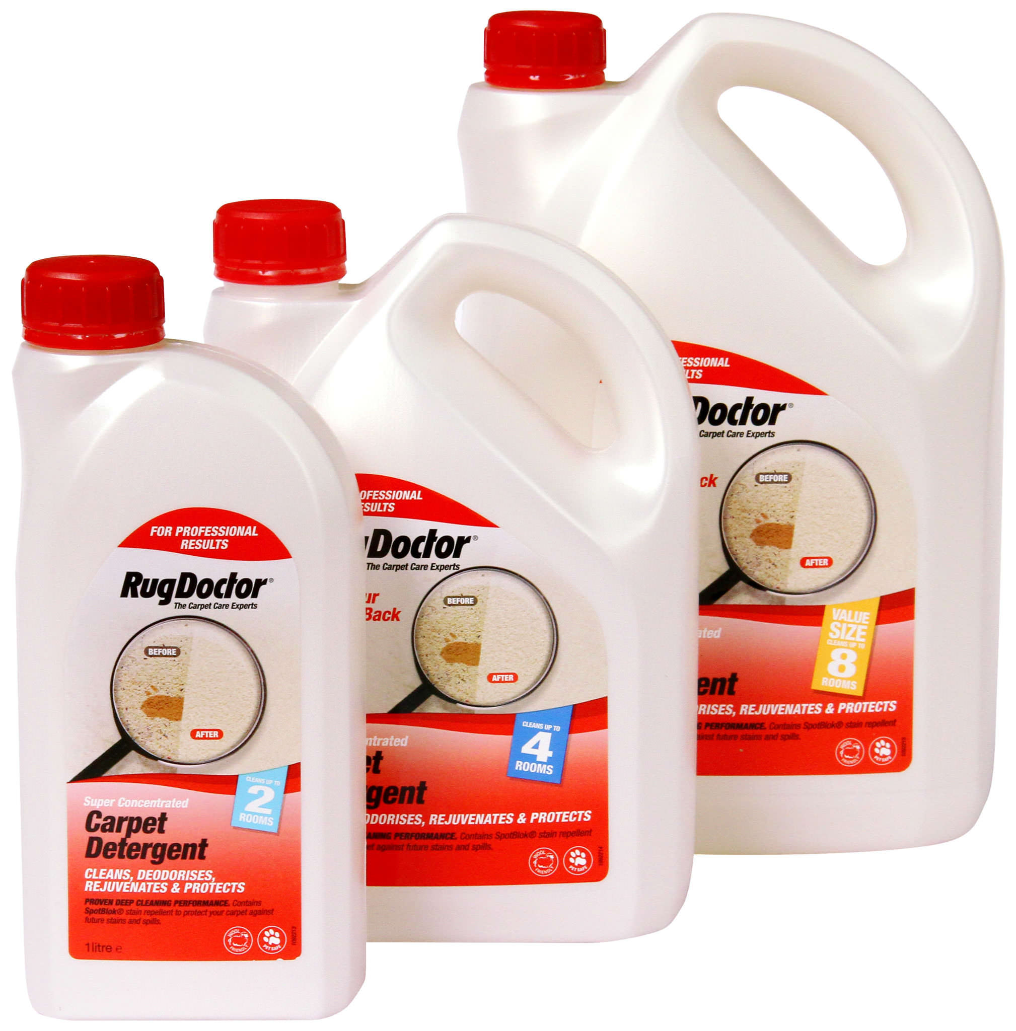 Carpet Detergent With Spotblok 174 Rug Doctor