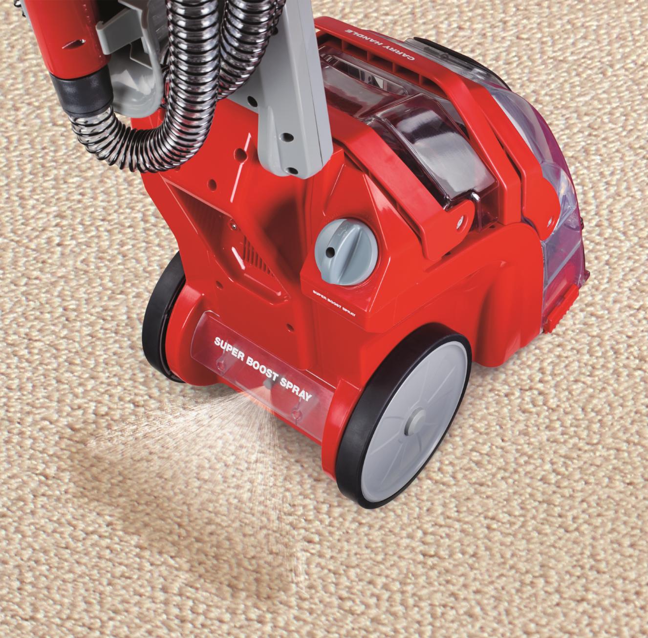 Rug Doctor Deep Carpet Cleaner Not Spraying