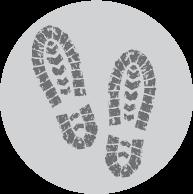dirty footprints