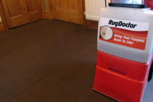 Rug Doctor in room