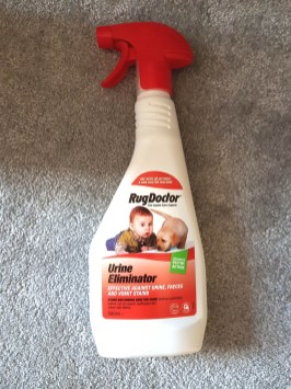 Rug-Doctor-Urine-Eliminator-Spray Rug Doctor Cleaning Solutions (Guest Blog by One Dad One Blog)
