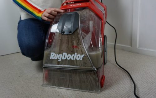 Deep Carpet Cleaner with Dirty Tank