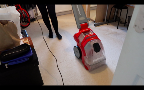 Carpet Refresh with the Deep Carpet Cleaner