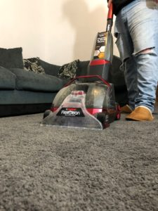 FlexClean on carpet