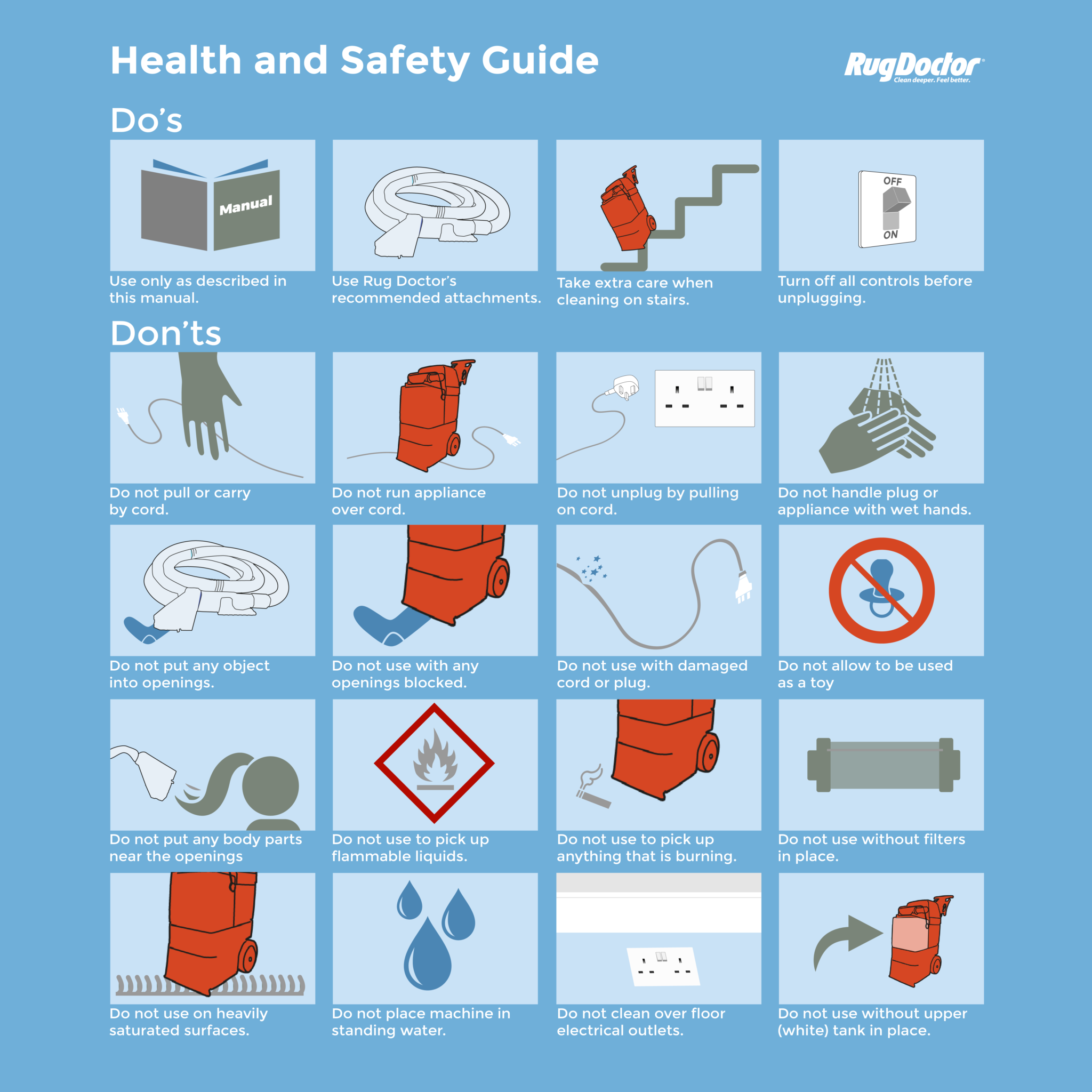 Rug-Doctor-Safety-Infographic Safety Guides