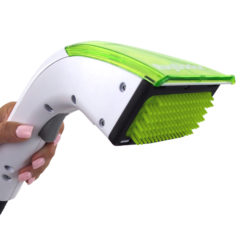 Pet Portable Spot Cleaner Rubberised Brush