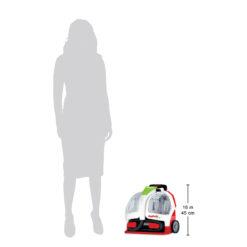 Pet Portable Spot Cleaner Size