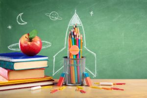 School Stationary by Blackboard