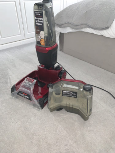 flexclean_bed-375x500 Cleaning my carpets with Rug Doctor (Guest Blog by House To Home At Last)