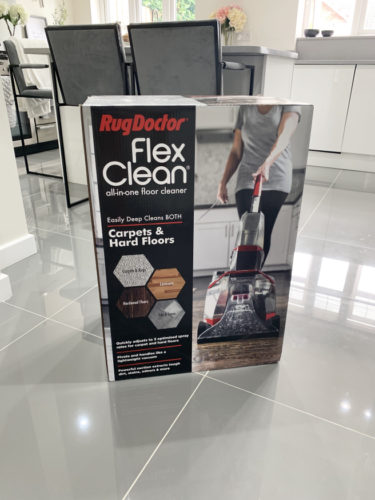 flexclean_box-375x500 Cleaning my carpets with Rug Doctor (Guest Blog by House To Home At Last)
