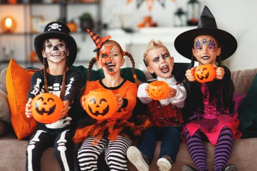 Kids-at-Halloween-500x333 Halloween Party Ideas