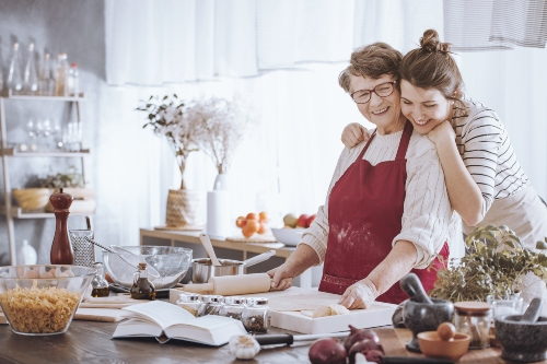 mum-and-daughter-in-the-kitchen How to Have a Stress-Free Christmas Day